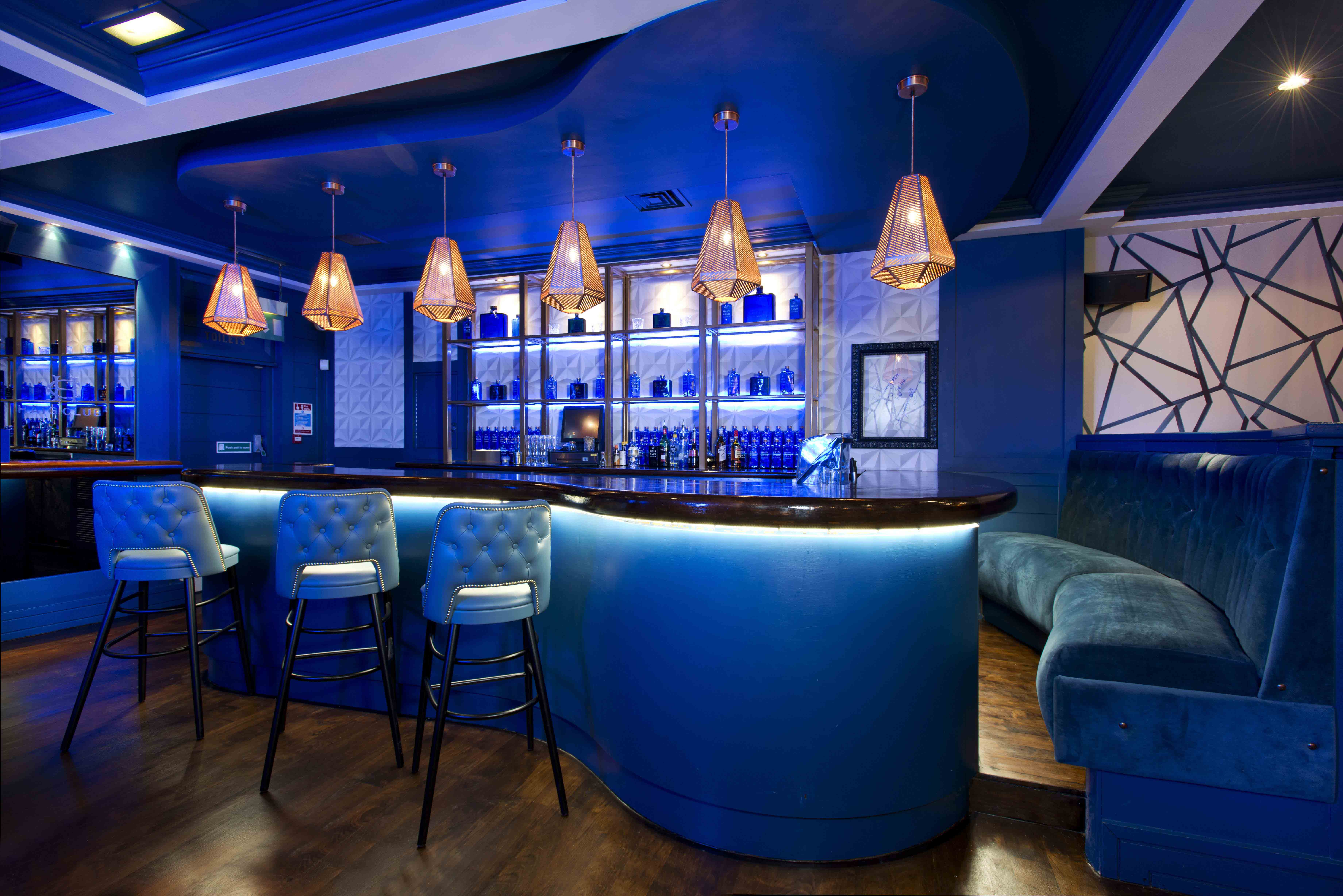 Fusion by Design's interior design scheme for Manchester based restaurant