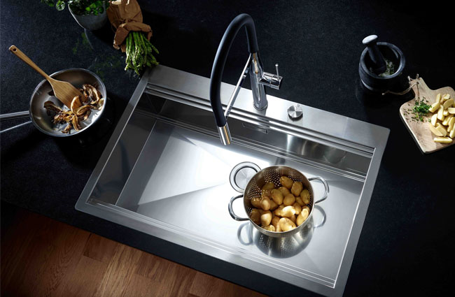 GROHE's new kitchen sink range launch for interior design product update June 2018