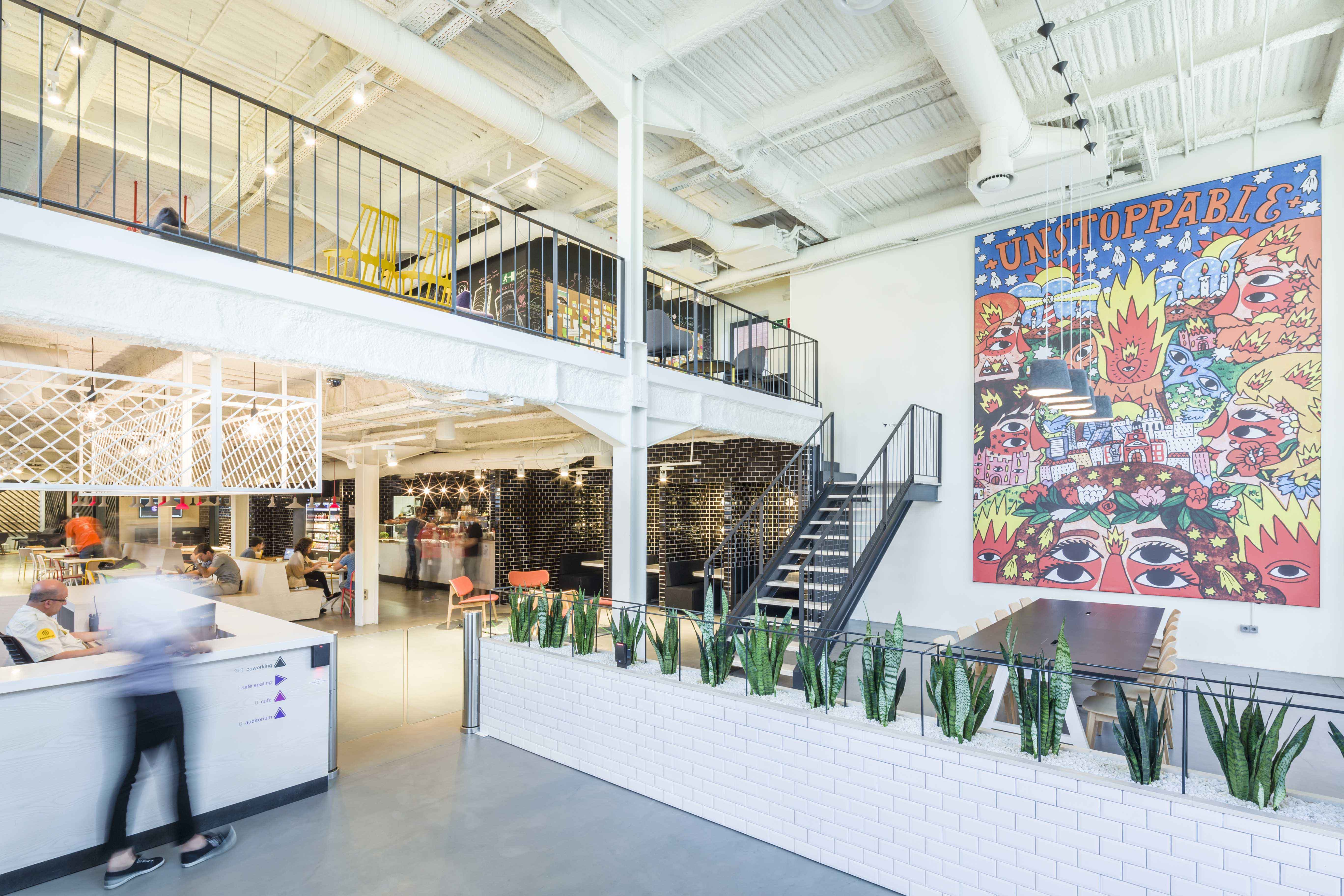 Jump Studios - A Populous Company - Google Campus Madrid for employee wellbeing in interior wellness blog