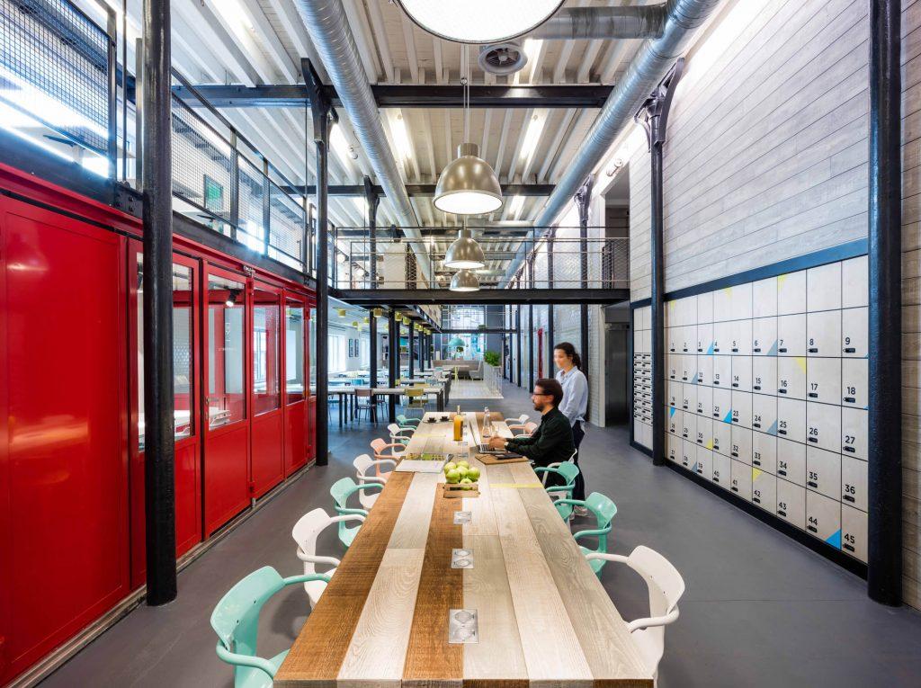 Interior design scheme by MoreySmith for Deskopolitan offices in Paris