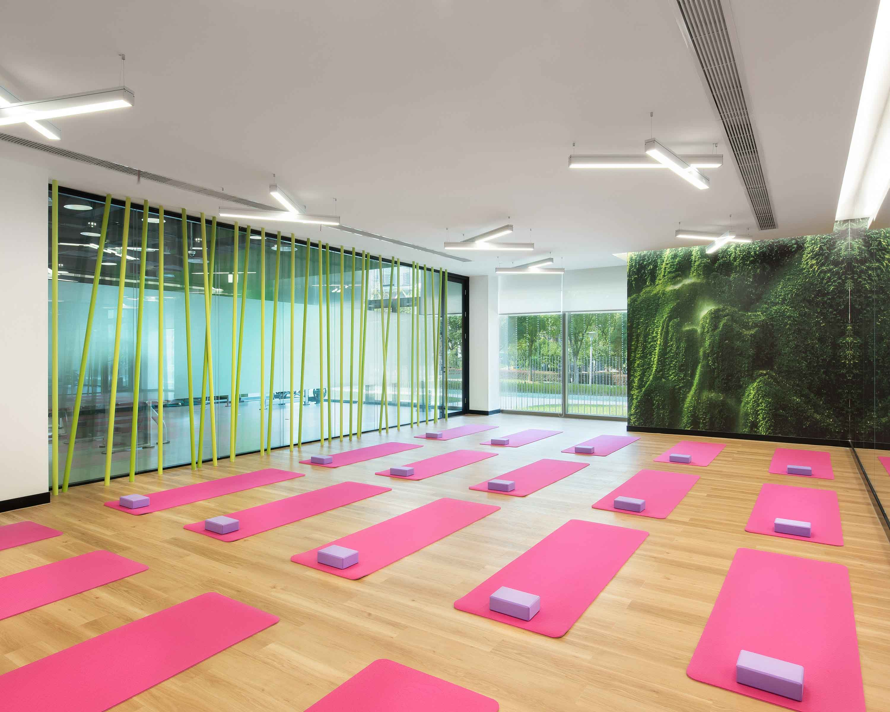 PDM International - Microsoft Suzhou Technology Center for employee wellbeing in interior wellness blog