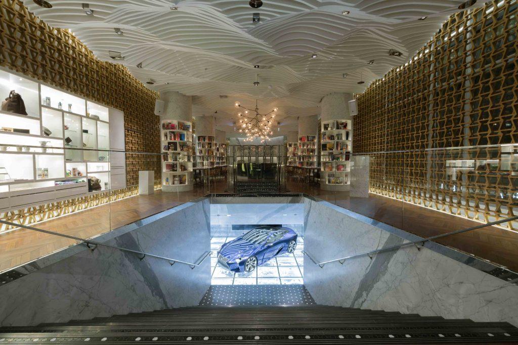 SBID Awards Category Winner 2017, LXA interior design scheme for Retail Design
