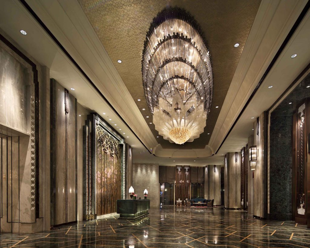 SBID Awards Category Winner 2017, Wanda Hotel Design Institute interior design scheme for Hotel Public Space Design