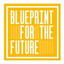 Blueprint For The Future logo for interior and design events calendar