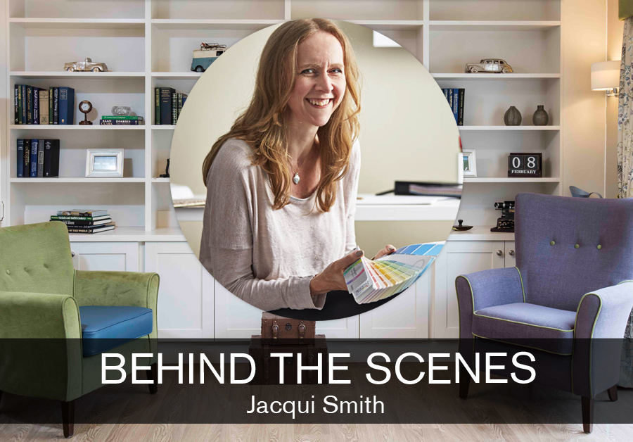 Jacqui Smith at HomeSmiths feature on the SBID Interior design blog, Behind the Scenes