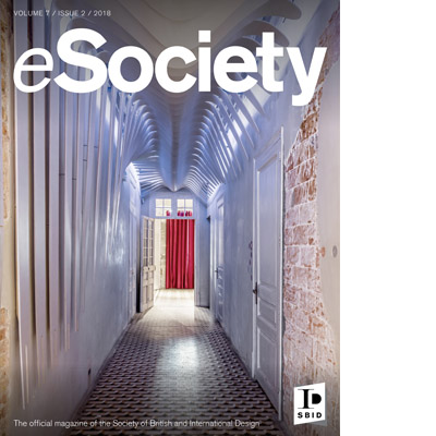 SBID interior design eSociety magazine cover volume 7 issue 2