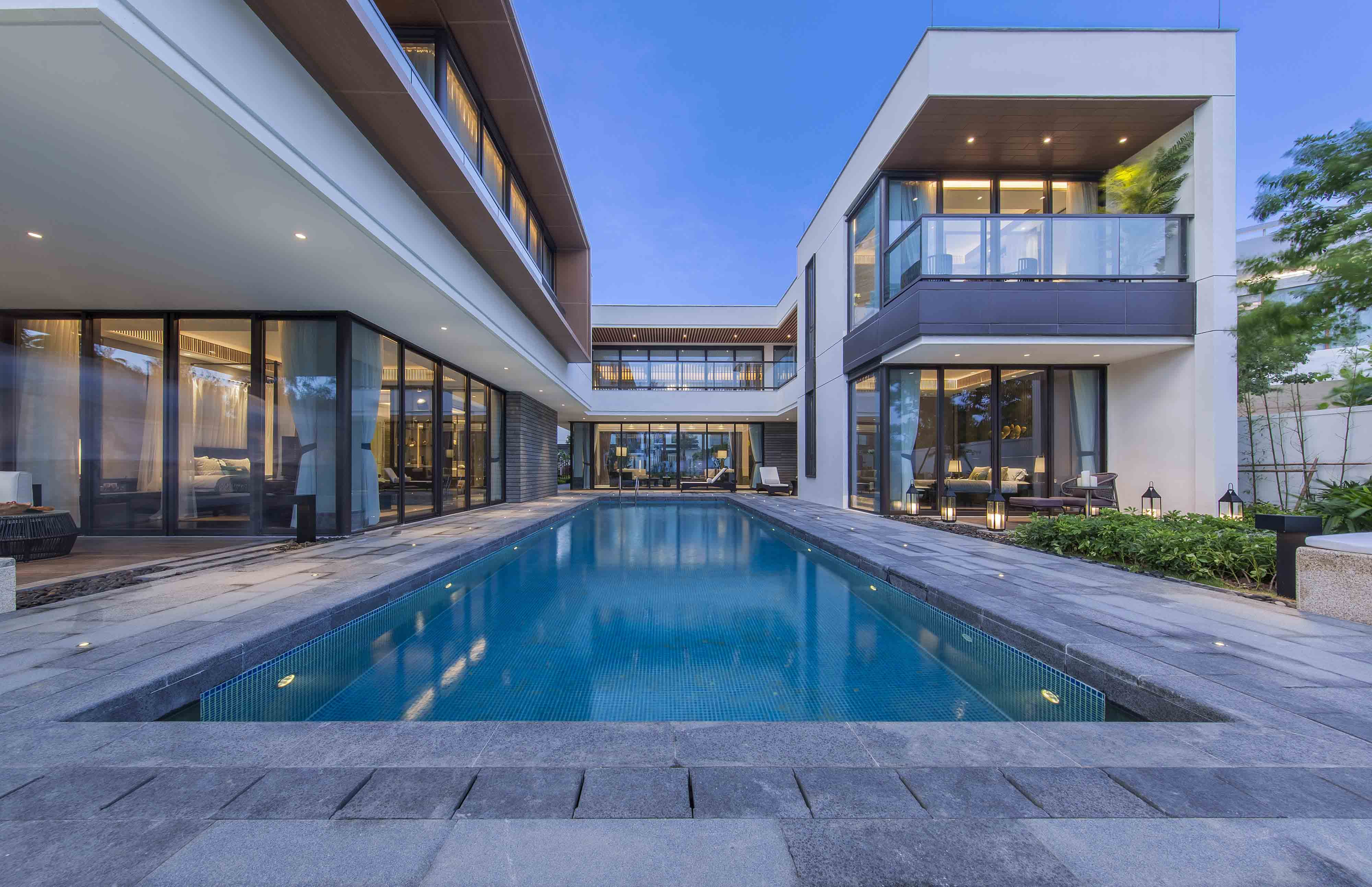 Interior design scheme for Poly Beiluo Villa C1 Apartment by GuangZhou Daosheng interior Design Co.