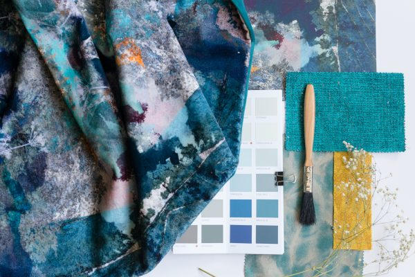 Mairi Helena moodboard image for interior design events with SBID Scotland