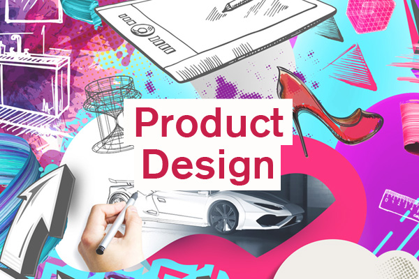 Product Design Category artwork for student design competition, Designed for Business