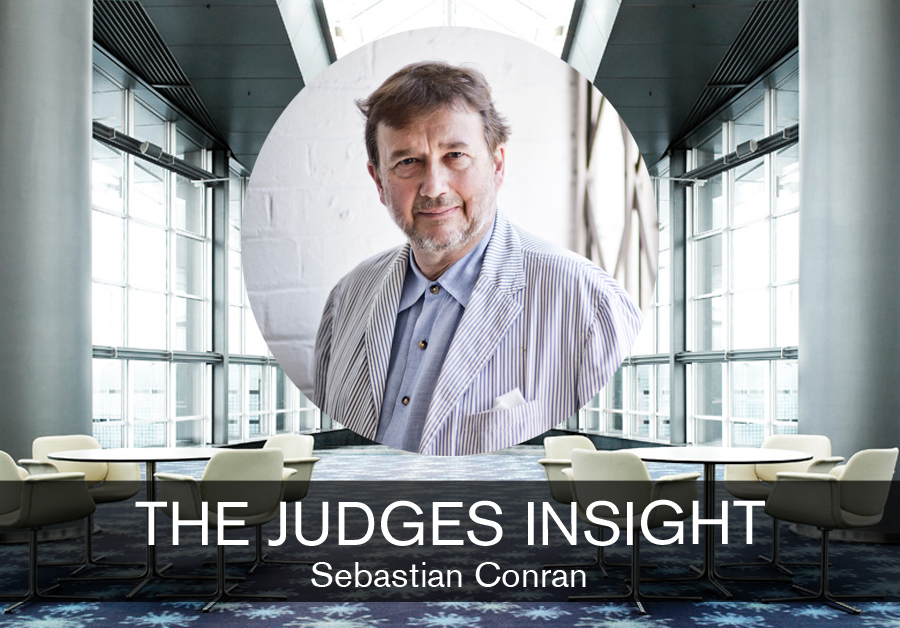 The Judges Insight for the student design competition, Designed for Business, with Sebastian Conran