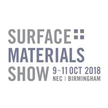 Surface Materials Show logo for interior design events calendar
