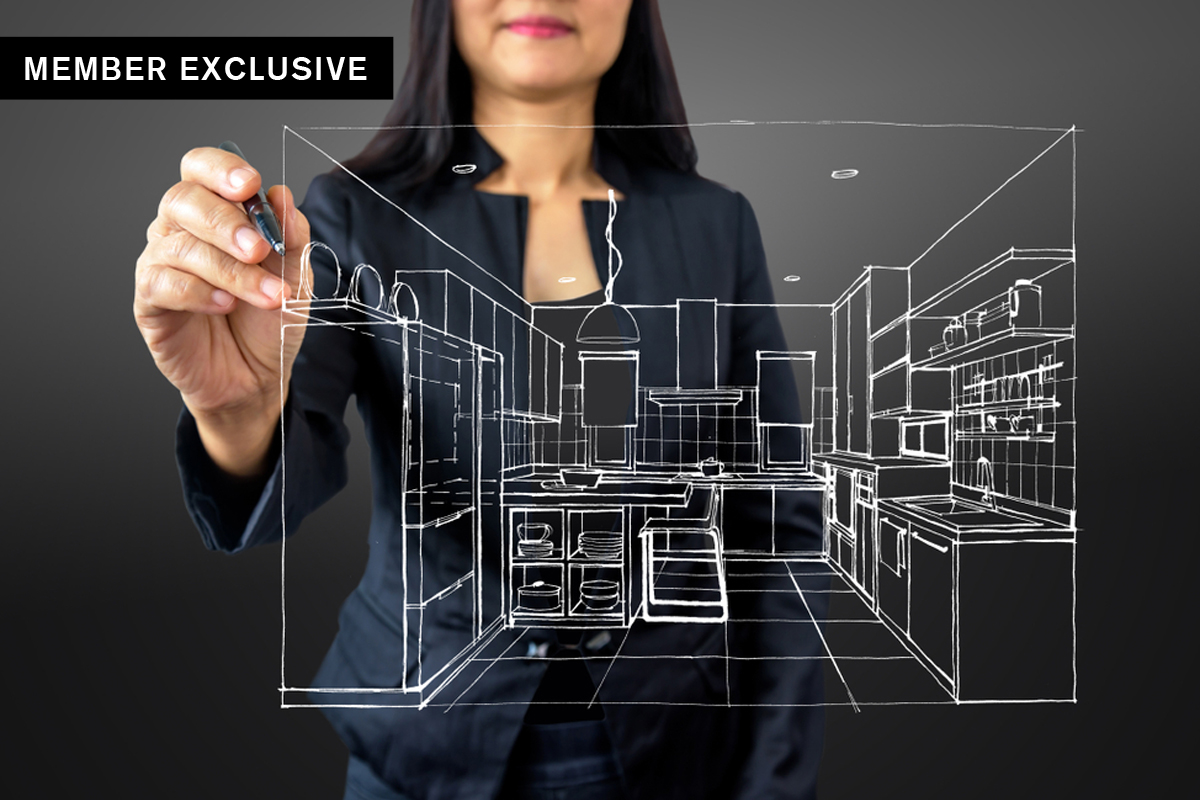 How virtual reality impacts the role of interior designer
