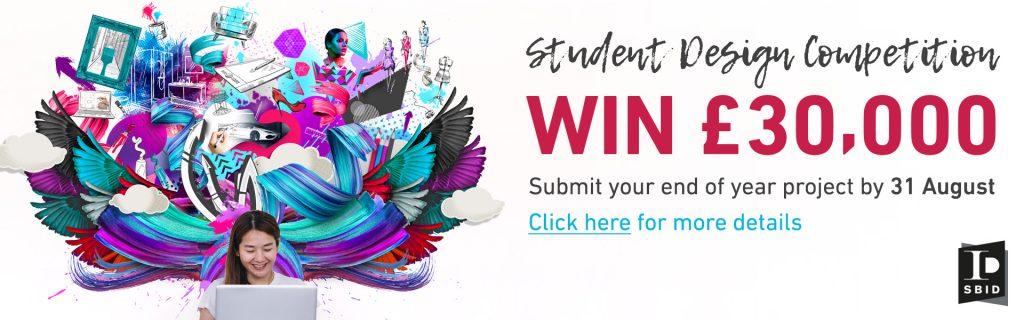 Student Design Competition Designed for Business artwork