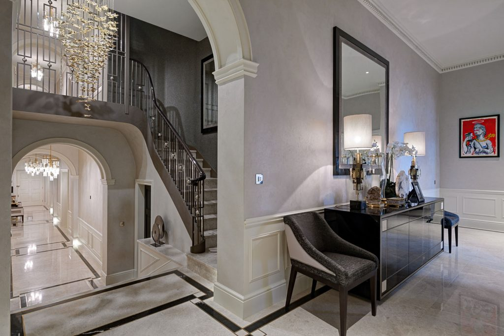 Hill House Interiors Albert Court Apartment interior design scheme for Project of the Week
