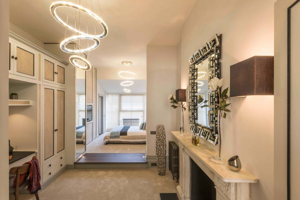 Prestige Architects London Bachelor Pad interior design scheme for Project of the Week on SBID blog