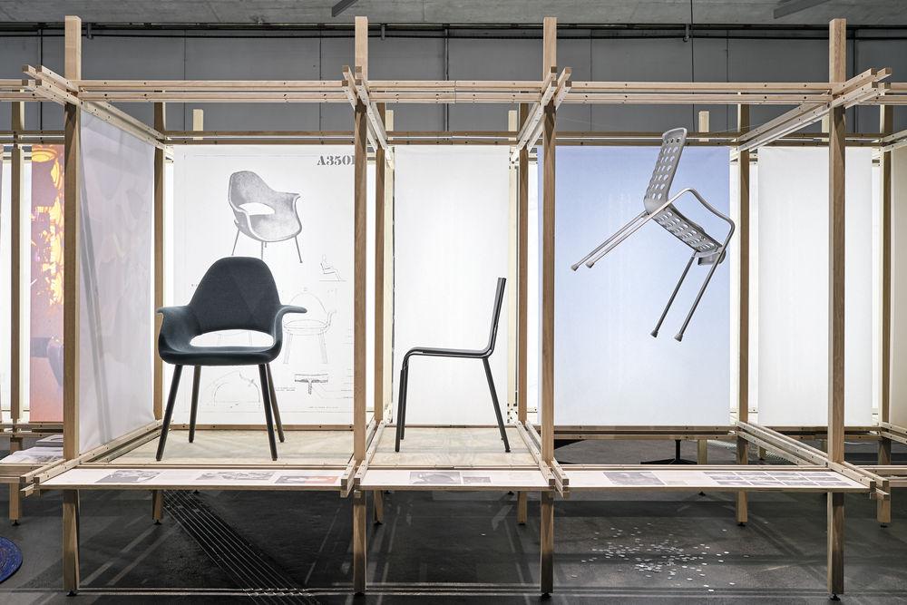 Vitra installation at designjunction for interior design events blog