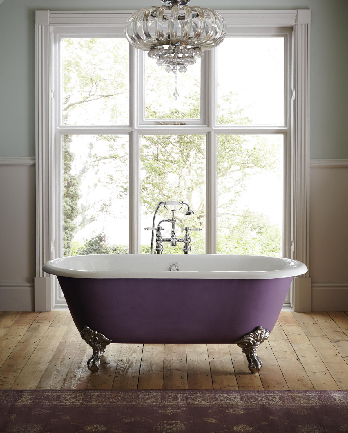 Heritage Bathrooms product images for SBID interior design blog