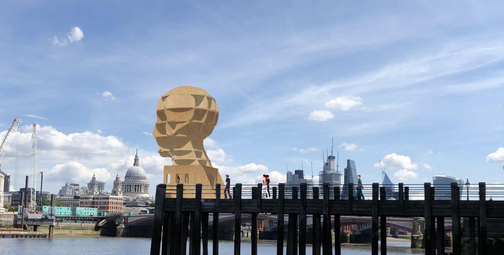 designjunction installation image at London Design Festival for SBID interior design events blog post