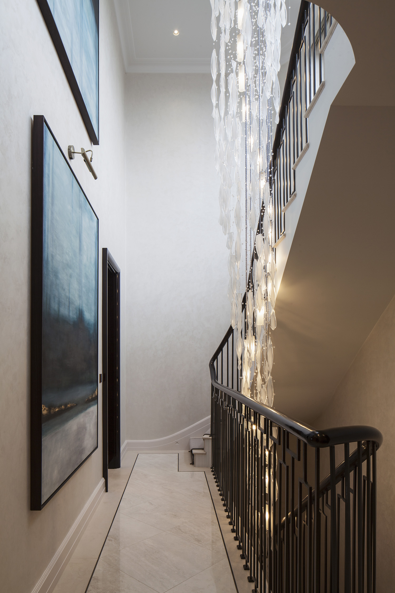 Fenton Whelan Eaton Place featuring Nulty Bespoke lighting project images for SBID interior design blog, Project of the Week