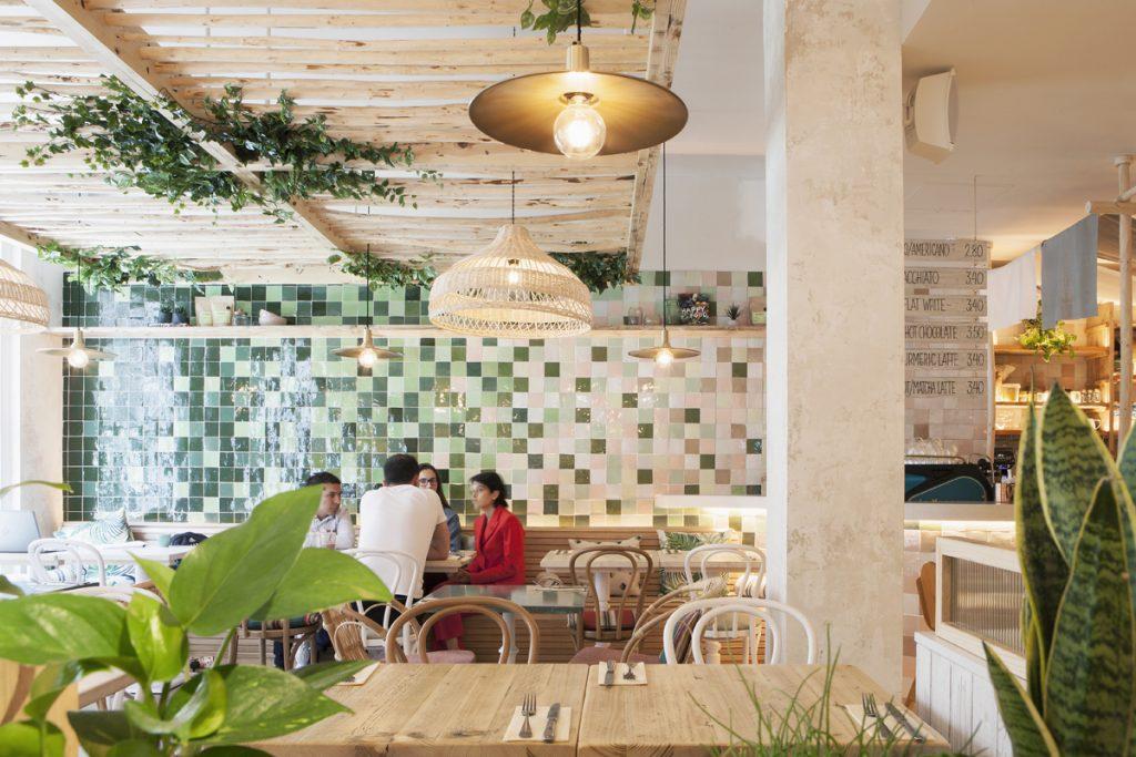 DesignLSM Avobar restaurant design project images for SBID interior design blog, Project of the Week