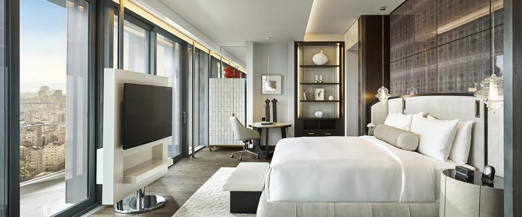 Wilson Associates Fairmont Quasar Istanbul design project images for SBID interior design blog, Project of the Week