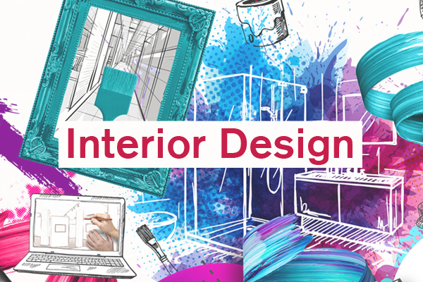 Interior Design Category artwork for student design competition, Designed for Business