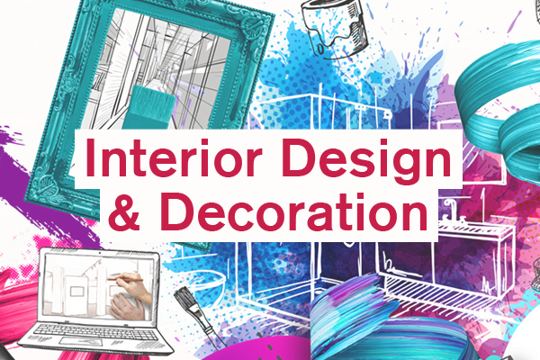 Interior Design and Decoration Category artwork for student design competition, Designed for Business