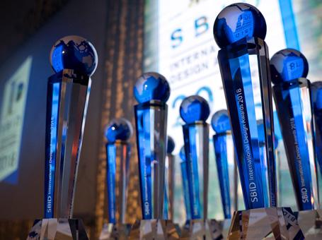 SBID International Design Awards 2018 trophy