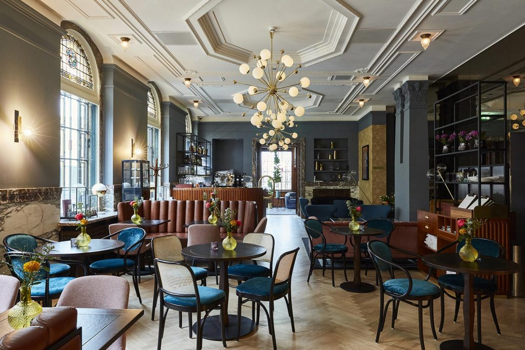 HUGO and IHG hotel design project images for SBID interior design blog, Project of the Week