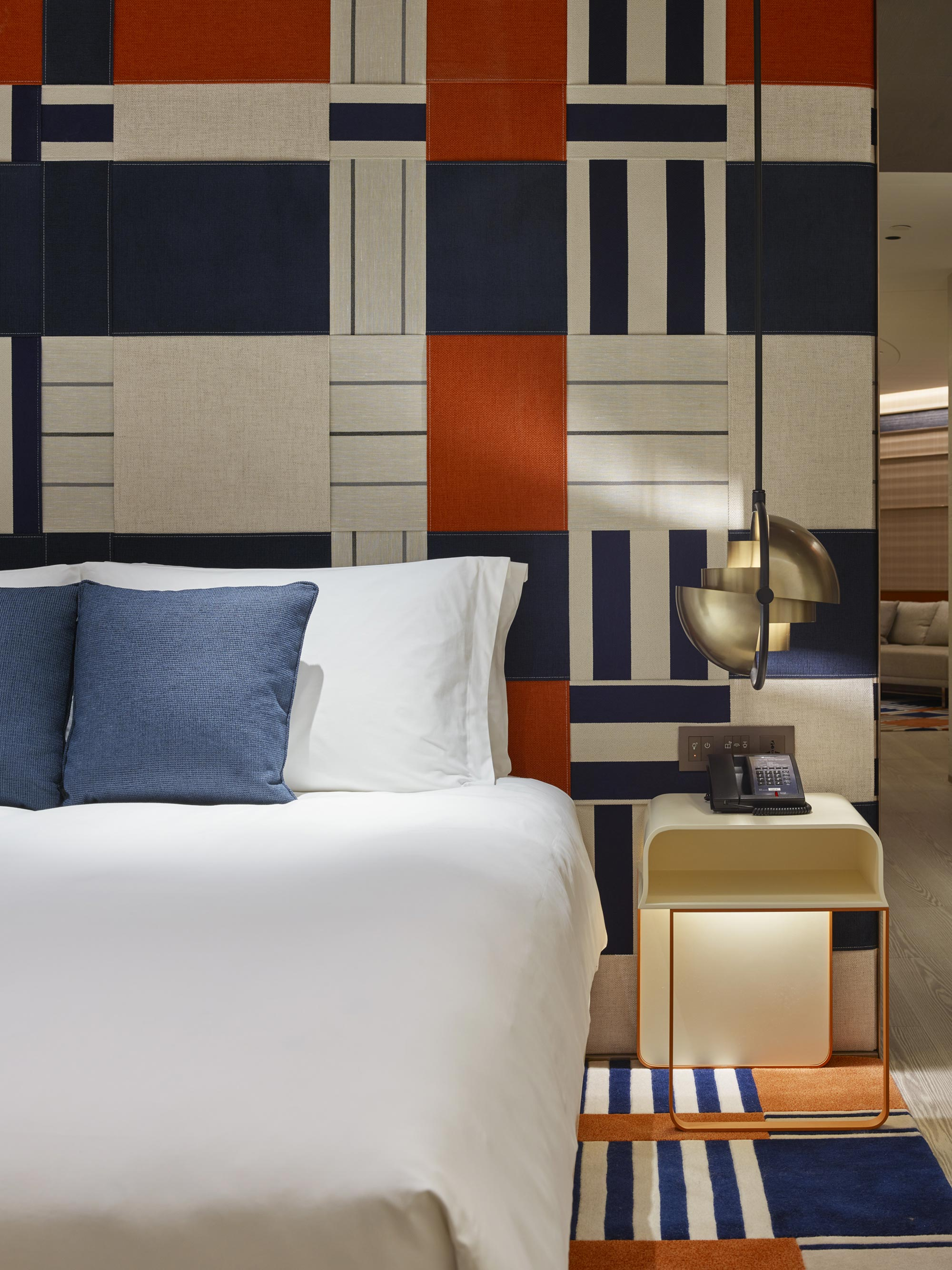 Hirsch Bedner Associates hotel design project images for SBID interior design blog, Project of the Week