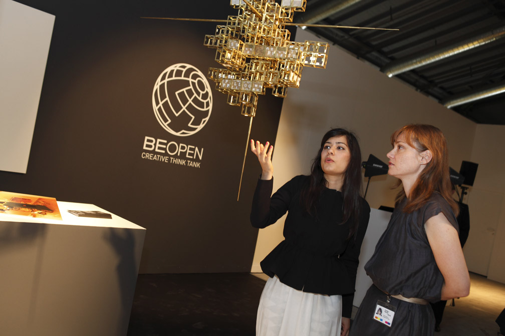 Elena Baturina, Founder of Be Open feature in SBID interior design magazine, eSociety, Vol7 Iss 3