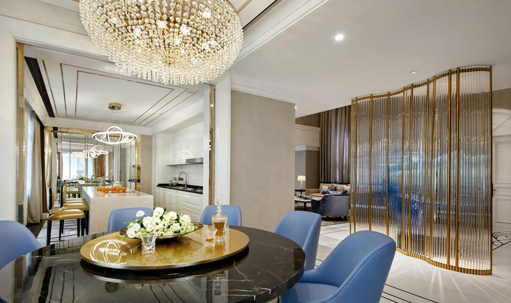 Chains Interior - The Silk Road residential design project images for SBID interior design blog, Project of the Week