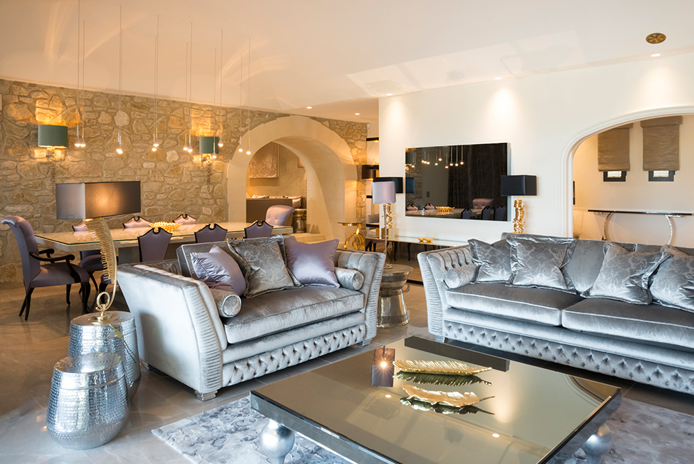 Juliettes Interiors, Provence Villa residential design project images for SBID interior design blog, Project of the Week