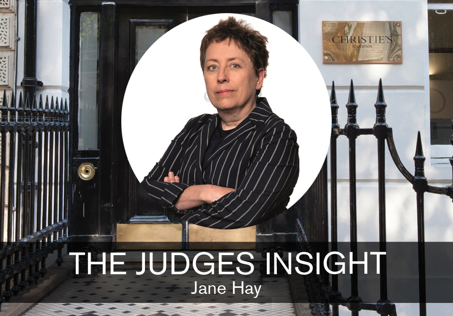 Jane Hay, Managing Director of Christies Education feature for SBID interior design blog, The Judges Insight, Designed for Business student design competition