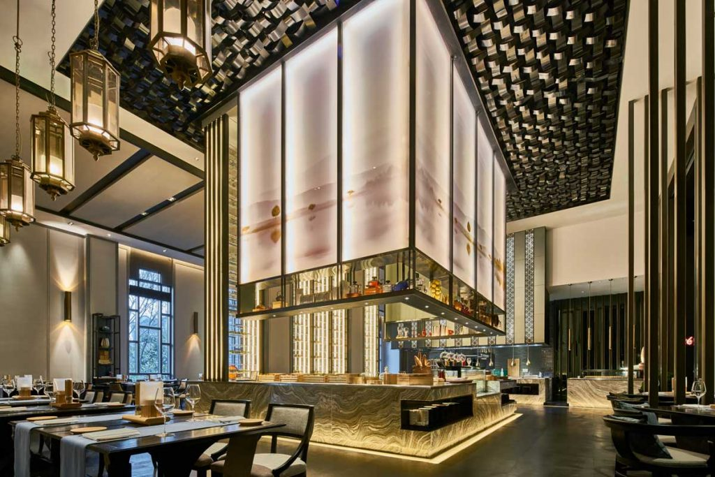 Wanda Hotel Design Institute, Wanda Vista Hefei hotel design project images for SBID interior design blog, Project of the Week