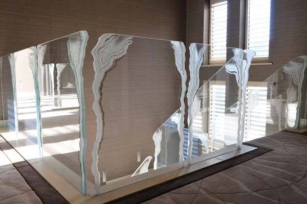 Daedalian Glass product feature for SBID interior design blog