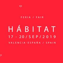 Design events for 2019 Habitat Valencia logo