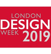 Design events for 2019 London Design Week logo