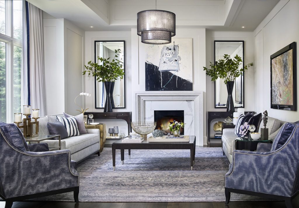 Regina Sturrock Design, Contemporary Manor residential design project images for SBID interior design blog, Project of the Week