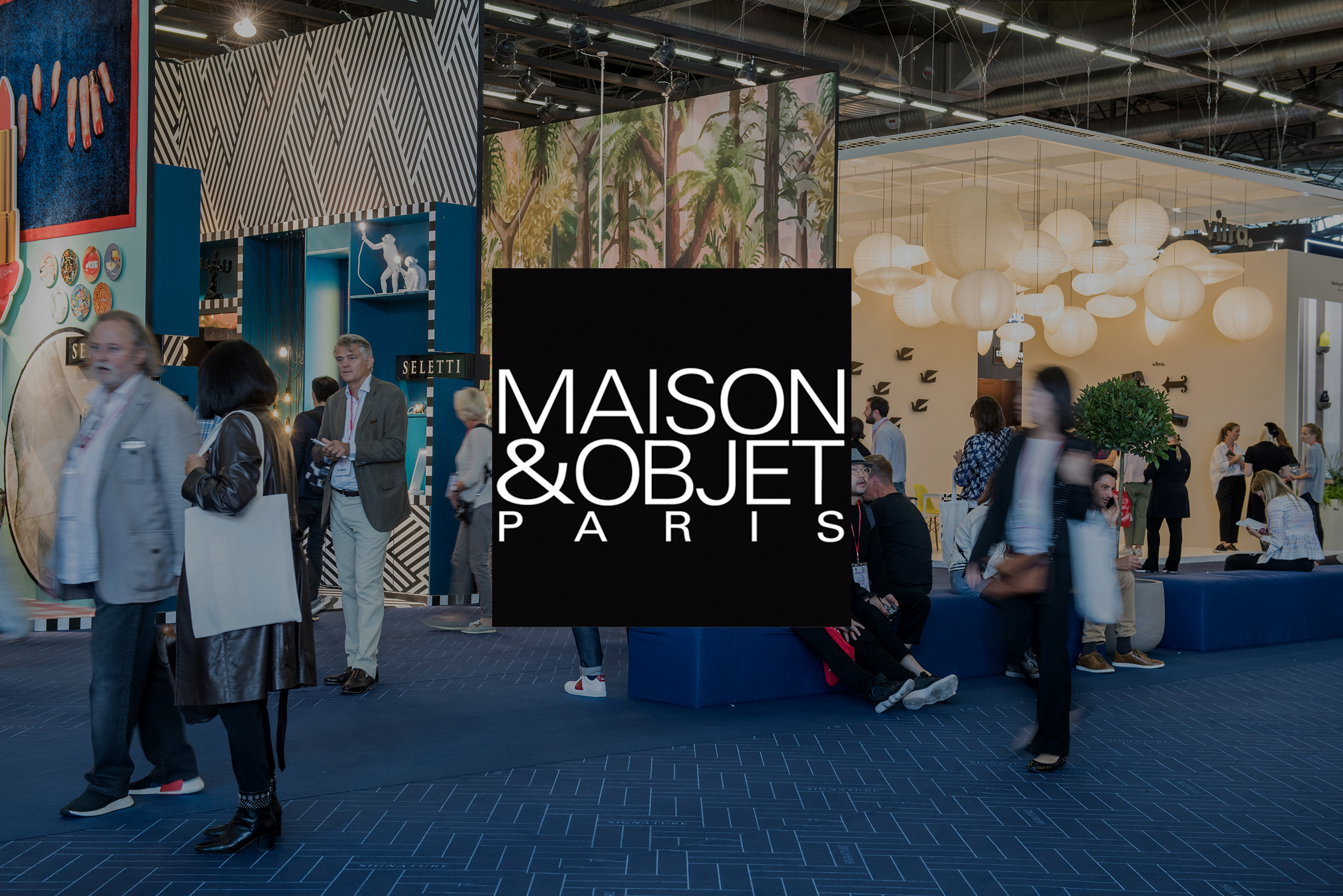 Maison&Objet tradeshow image for SBID interior design events blog post