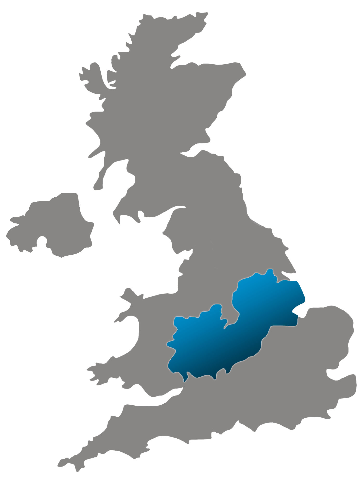 SBID Regional Director map for Midlands