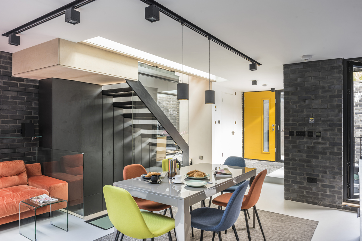 Crawford Partnership, Darling House residential design project images for SBID interior design blog, Project of the Week