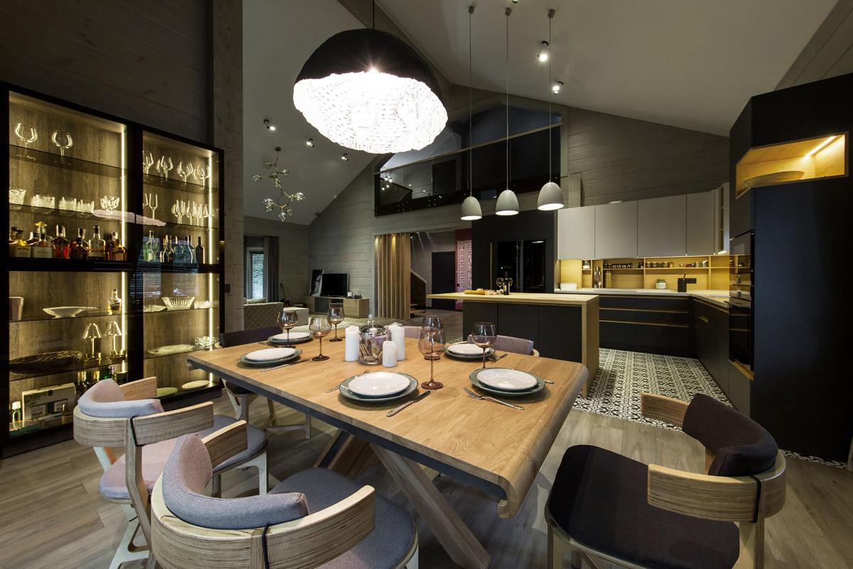 Danhor, River Side residential design project images for SBID interior design blog, Project of the Week