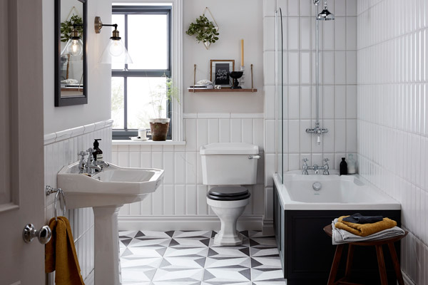 Heritage Bathrooms product feature for SBID interior design blog