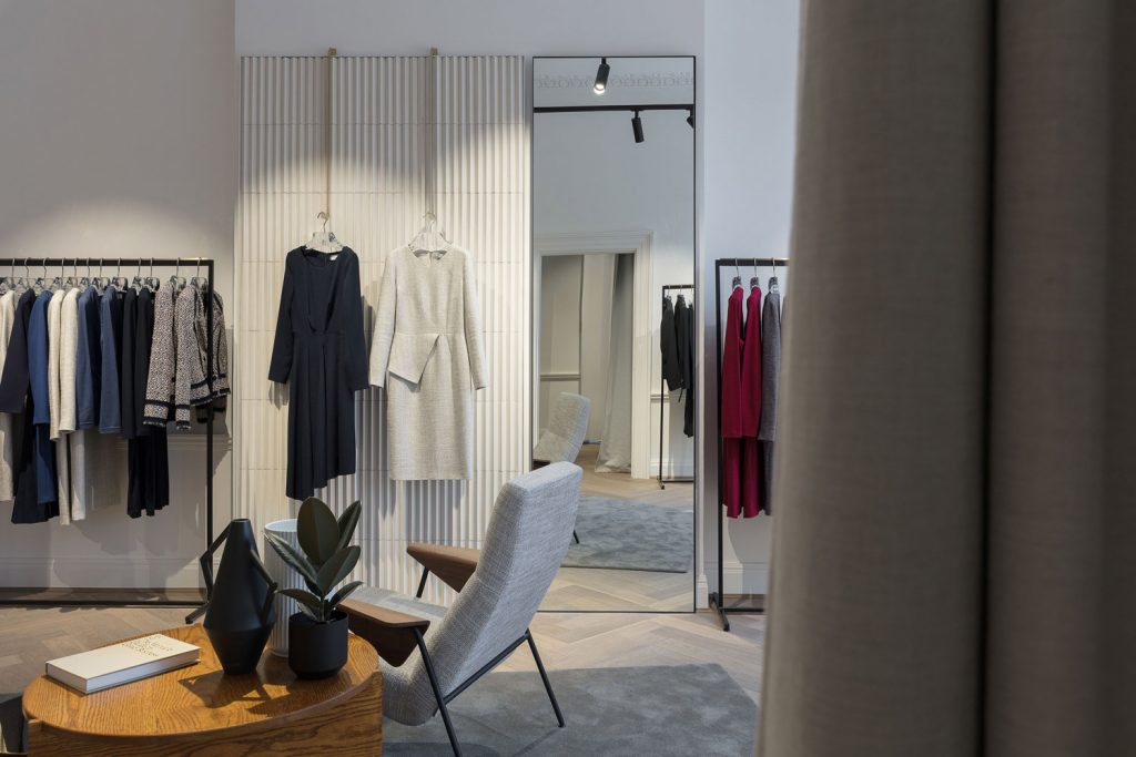 Kinnersley Kent Design, The Fold retail design project images for SBID interior design blog, Project of the Week