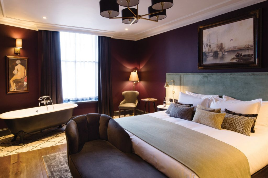 interior design, Timeless Interiors With A Twist For Historic Bristol Hotel Refurbishment