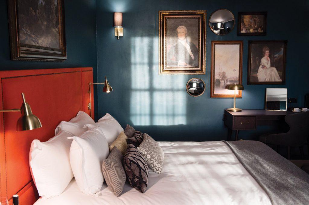 interior design, Timeless Interiors With A Twist For Historic Bristol Hotel Refurbishment