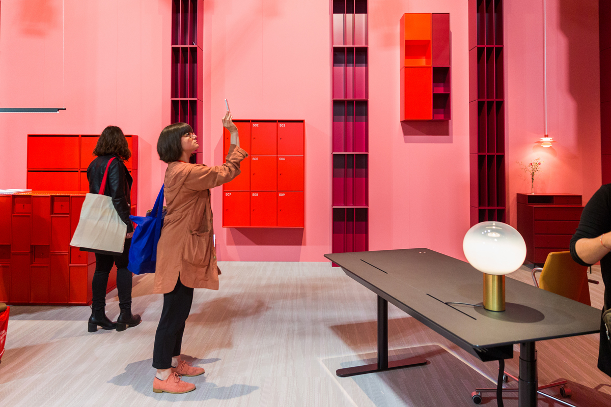 Salone del Mobile.Milano event image for SBID interior design events blog post. Image credit: Luca Fiammenghi