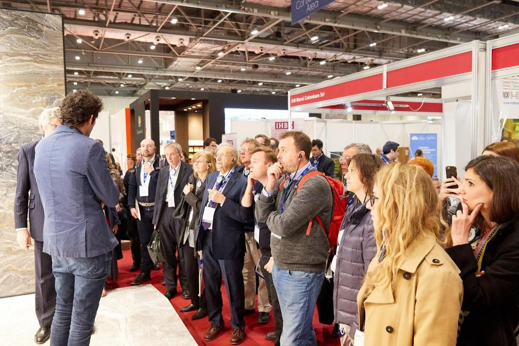 The Natural Stone Show event image for SBID interior design events blog post