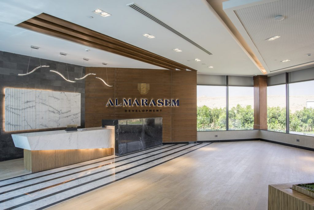 Archiform Consultants, Almarasem Sales and Marketing Showroom office design project images for SBID interior design blog, Project of the Week